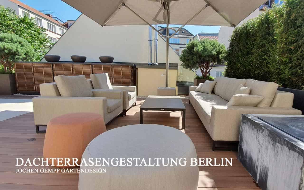 Dachterrassengestaltung planen und gestalten lassen Hamburg, Berlin, München,...