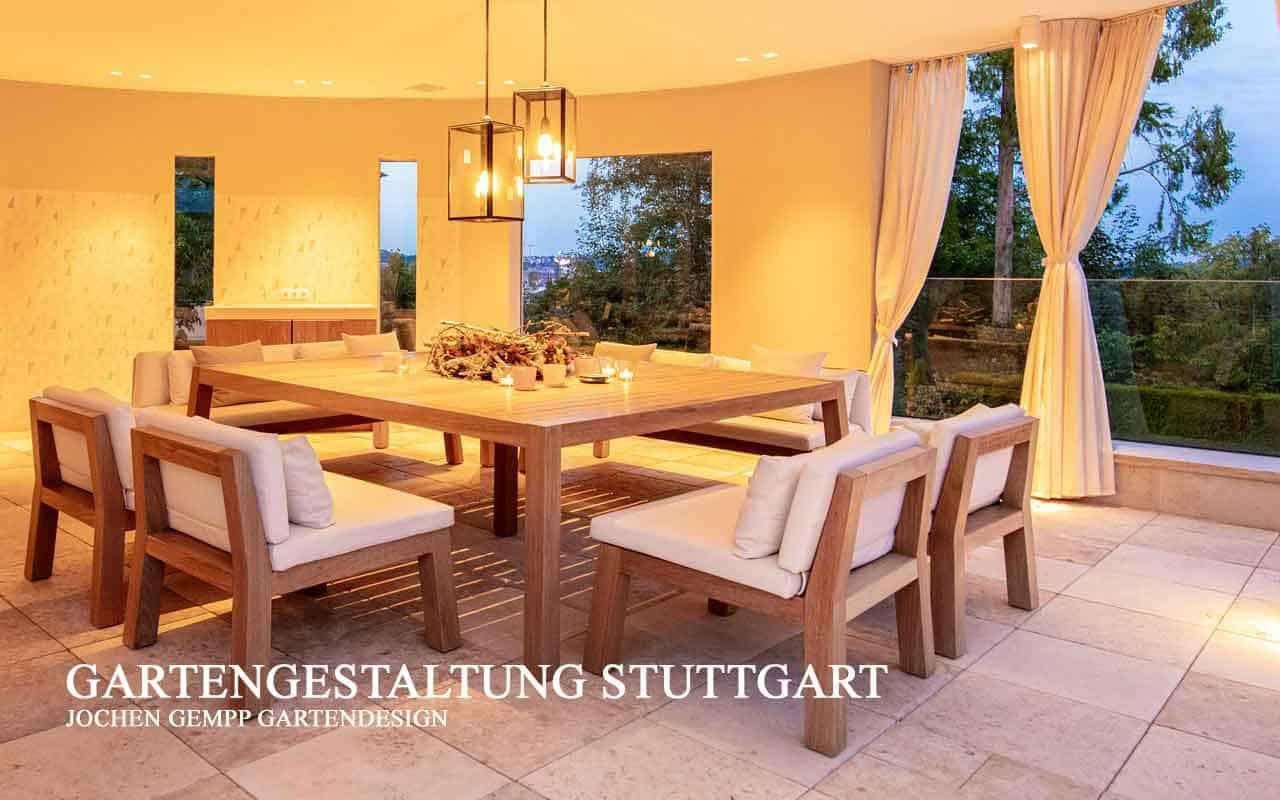 Design Gartenmöbel Teakholz