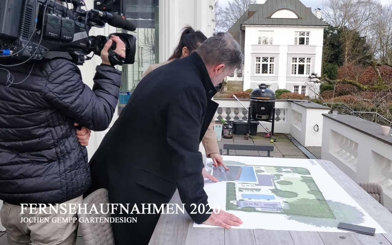 Gartendesigner Jochen Gempp Aufnahmen Fernsehen