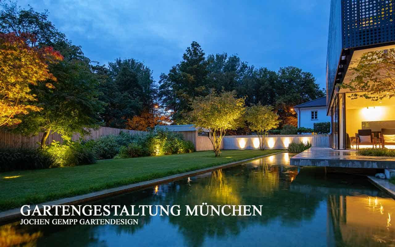 Gartengestaltung Gartenbau München