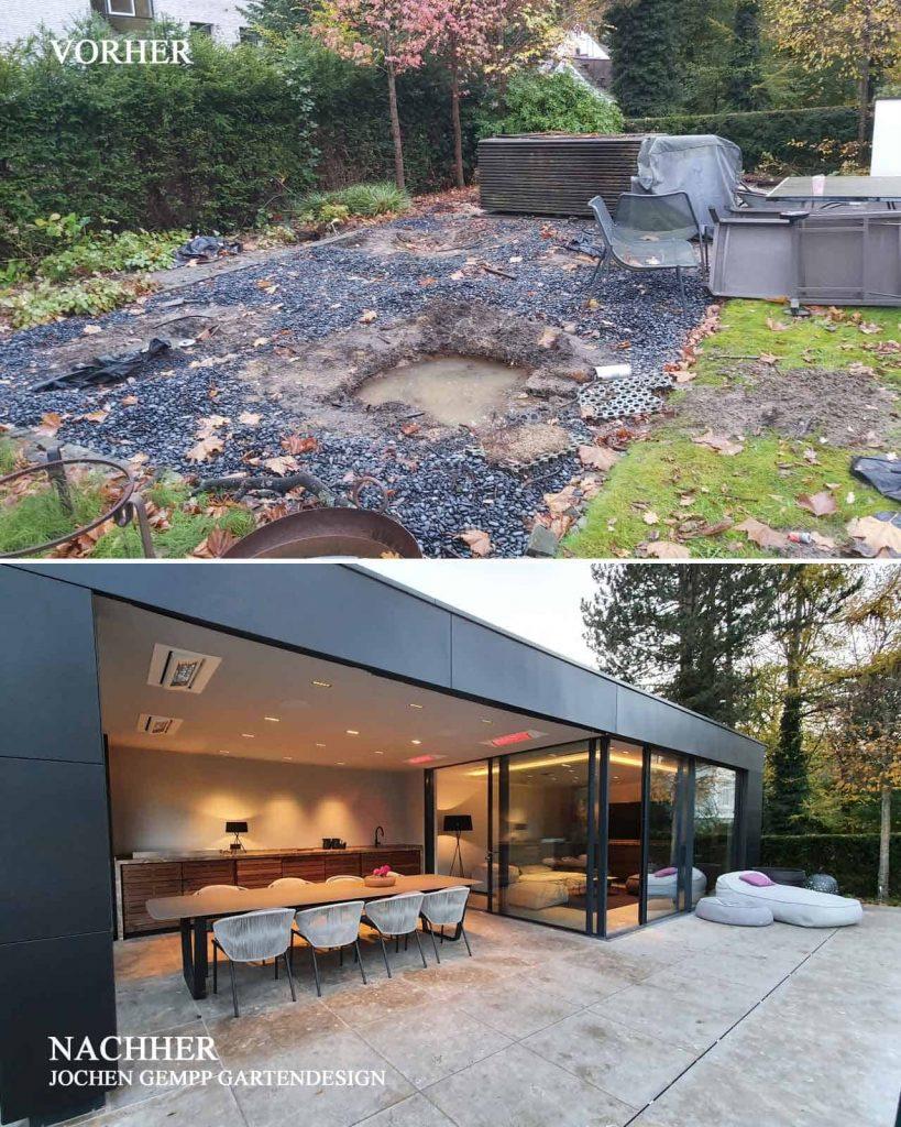 Gartenhaus Poolhaus Garten Sauna