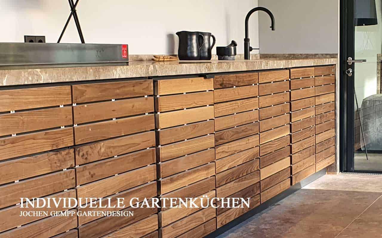 outdoor kitchen ueberdacht module ideen