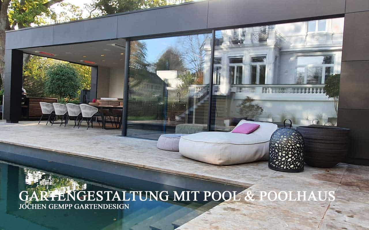 Pool im Garten Gartenpool