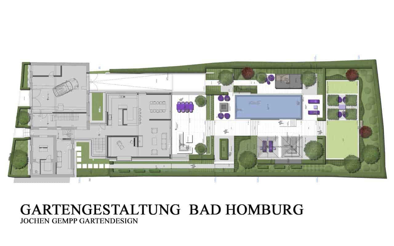 Gartengestaltung Gartenarchitekt Gartenbau Bad Homburg