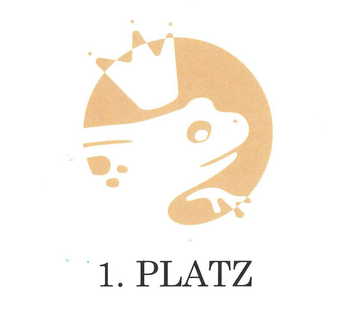 Goldener Froschkönig Platz 1